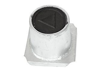 Däcksel, typ Geoskandia, mindre modell inkl lock