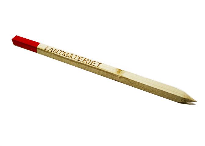 Stakkäpp trä, 22×22 mm, Lantmäteriet.