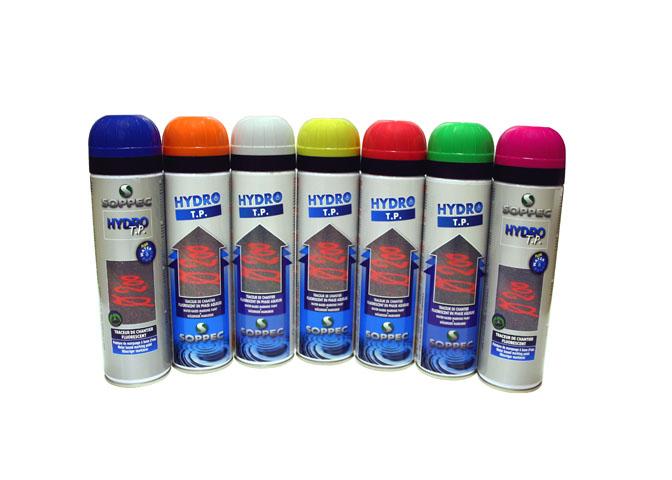 Markeringsspray, miljöanpassad fluorescerande