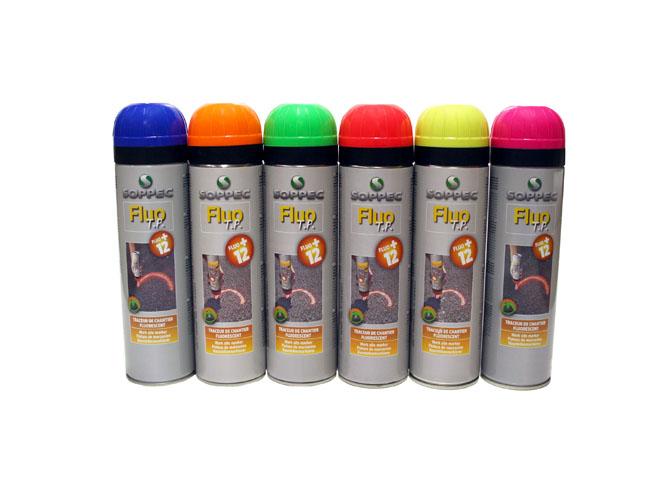 Markeringsspray fluorescerande